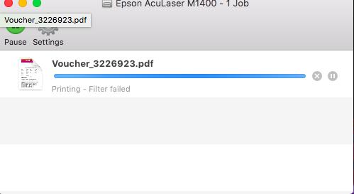 El Capitan - printer fails with 'filt… - Apple Community