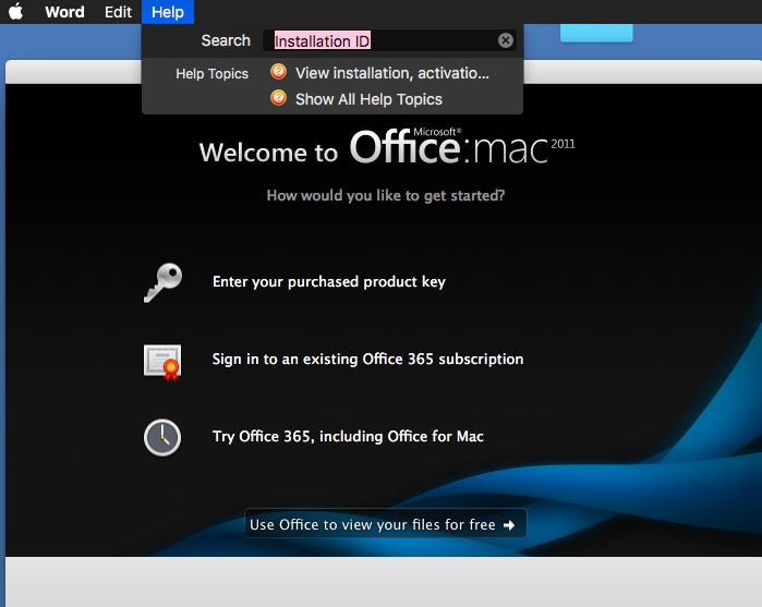 microsoft office 2011 mac product key plist