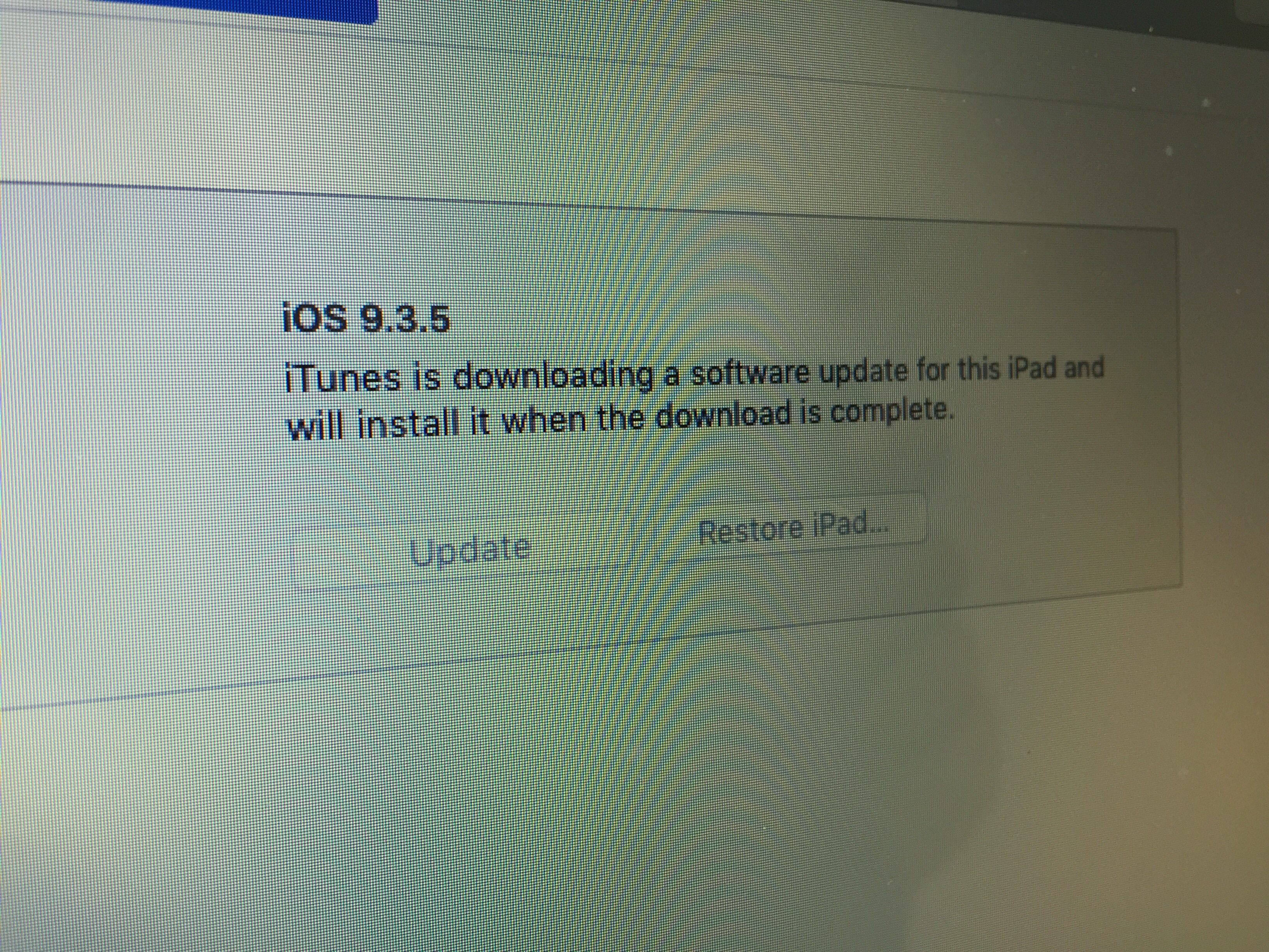 software update 9 3 6 will not download - Apple Community