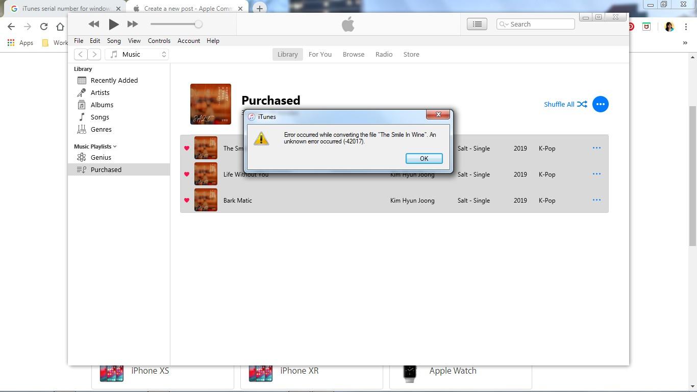 iTunes asks me to authorize my computer e… - Apple Community