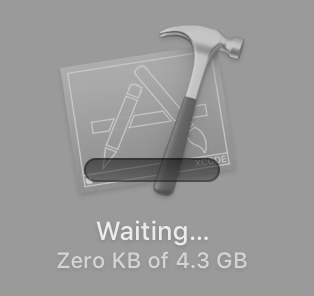 Xcode update stuck at waiting - Apple Community