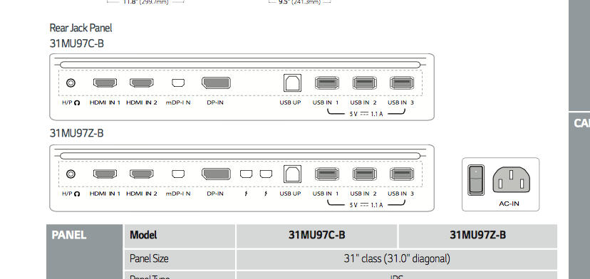 Using an LG 31MU97Z display with a Mac Pr… - Apple Community