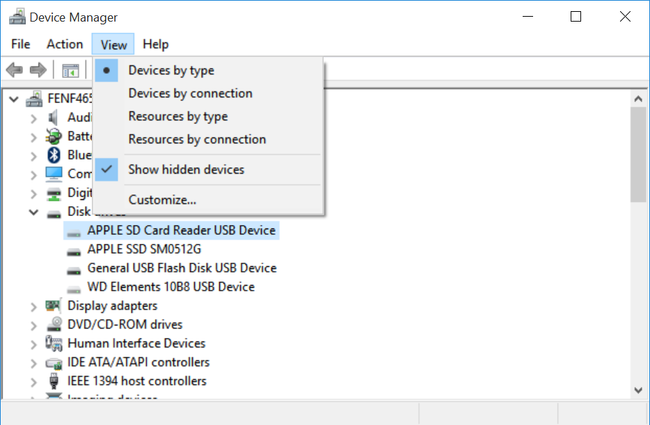 SD Card Reader not working in Windows 10 - Apple Community
