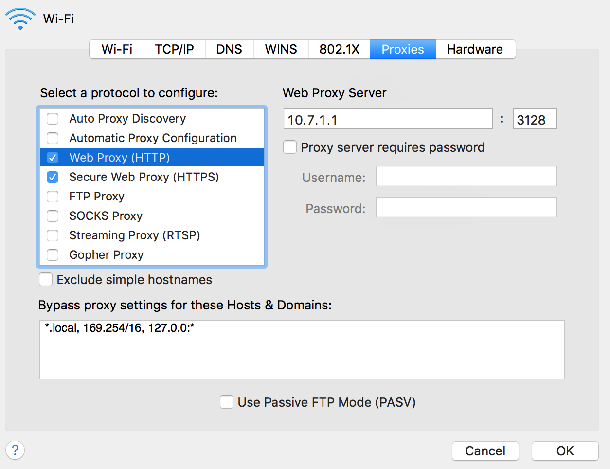 How can I bypass my university's prox… - Apple Community