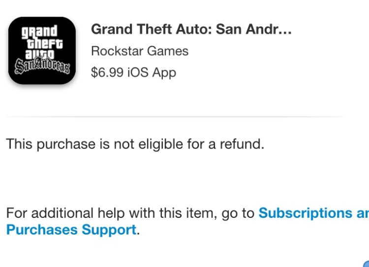 Cannot refund the game that my nephew acc… - Apple Community