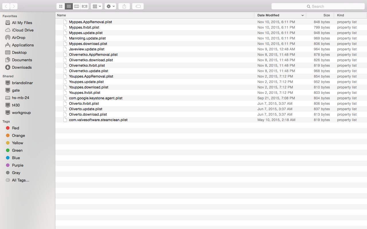 accidentally installed malware/adware (my… - Apple Community