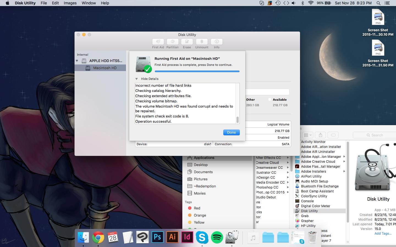 Wacom tablets lagging, Disk Utility won&#… - Apple Community