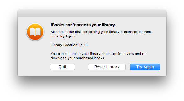 iBooks won't open - Apple Community