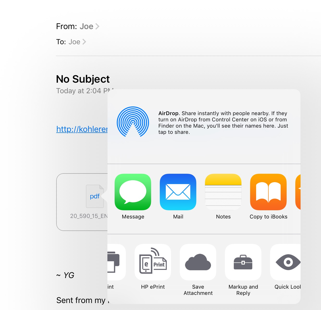 How do I save a pdf to iCloud drive on my… - Apple Community