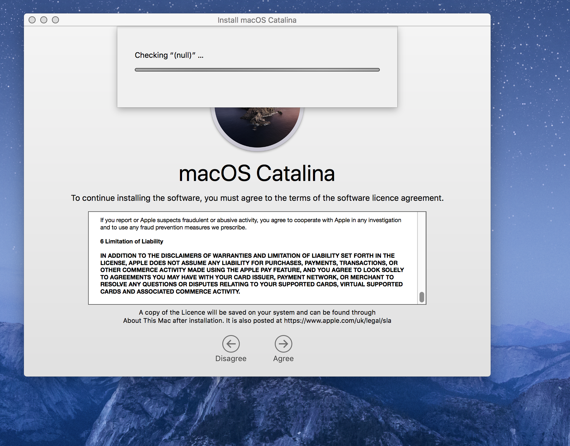 After Downloading Macos Catalina I Am Fac Apple Community