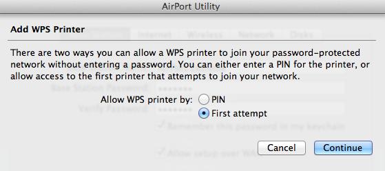 How do I setup a WPS device? - Apple Community