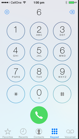iPhone App Needs fake dial pad - any sugg… - Apple Community