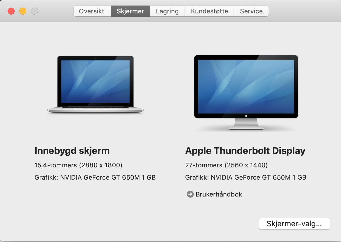 Apple Thunderbolt Display 27 - Black Scre… - Apple Community