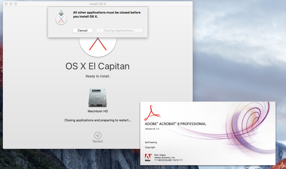 El Capitan installed with problems - Apple Community
