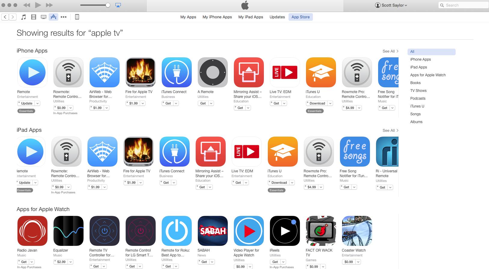 List of Apple TV 4 Apps - Apple Community