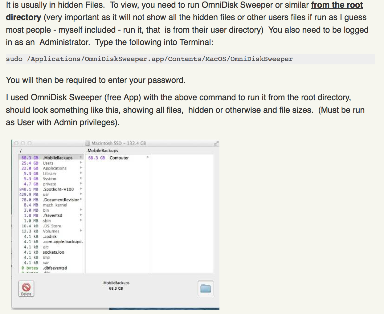 Macbook air 'others' folder sudde… - Apple Community