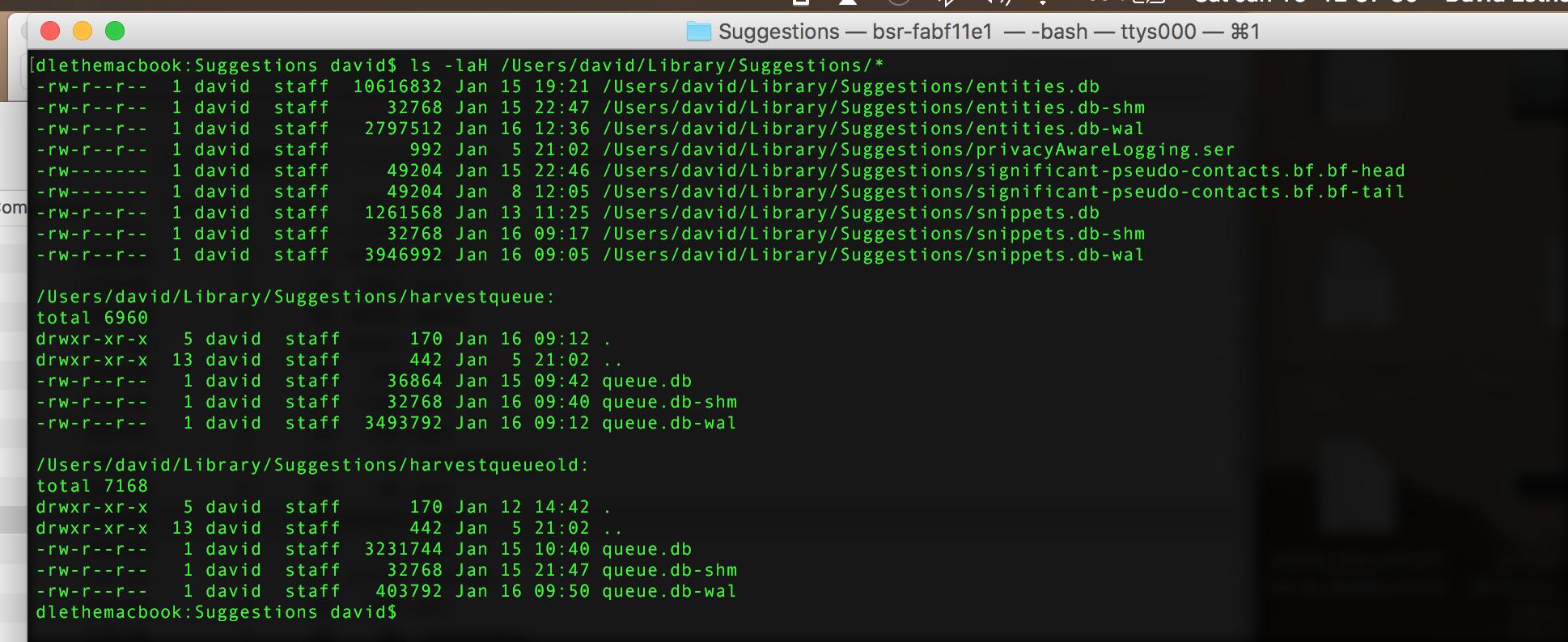 suggestd daemon is memory & cpu pig h… - Apple Community