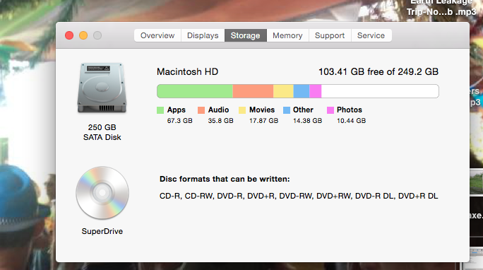 How to delete or remove the files known a… - Apple Community