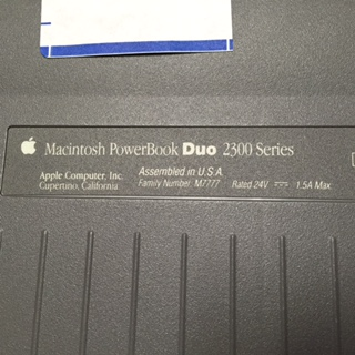 Data transfer from - Powerbook Duo 2300 - Apple Community