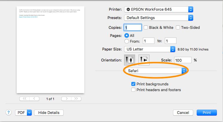 2 sided printing setup for epson - Apple Community