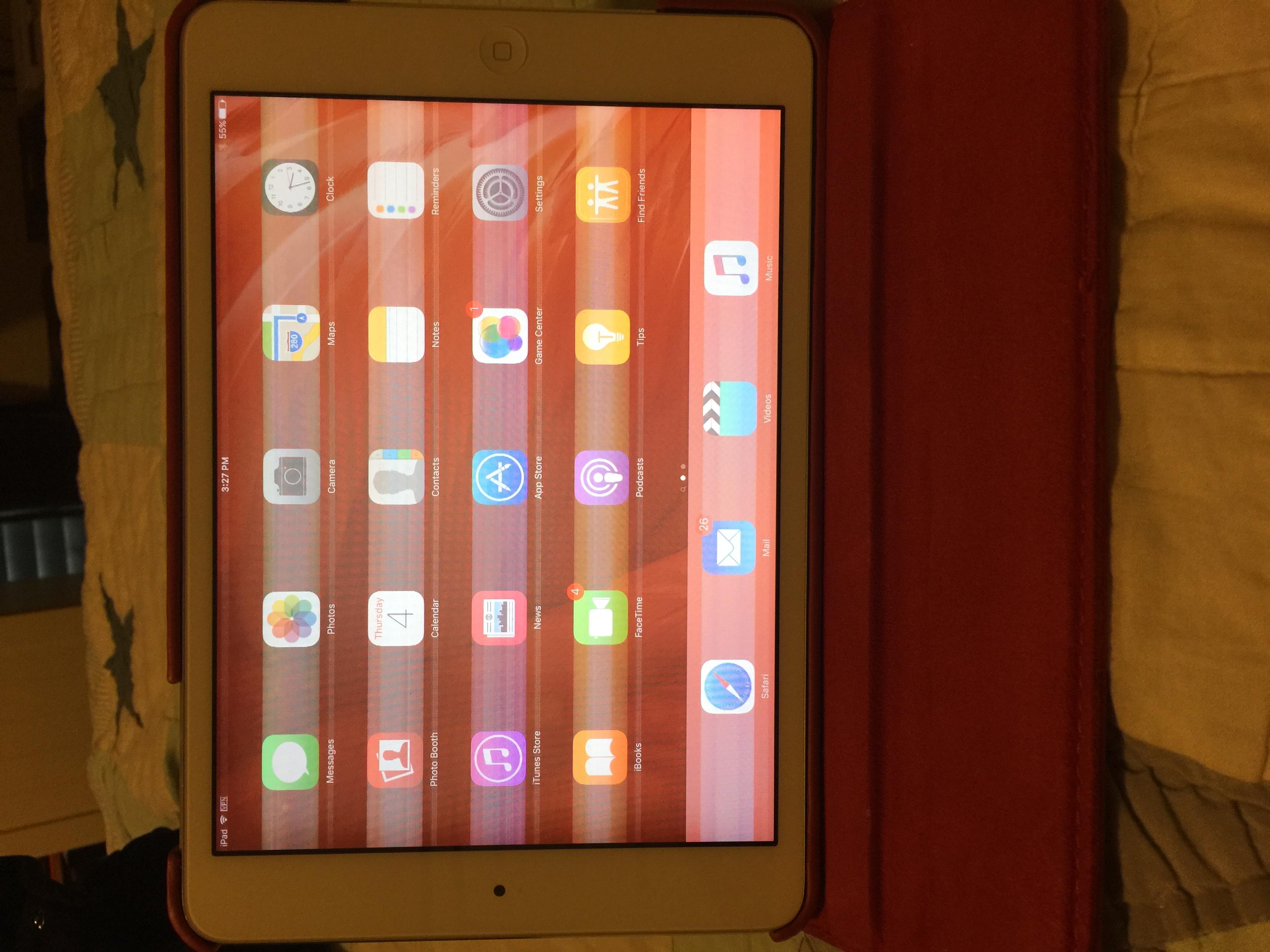 iPad mini 2 screen problem - Apple Community