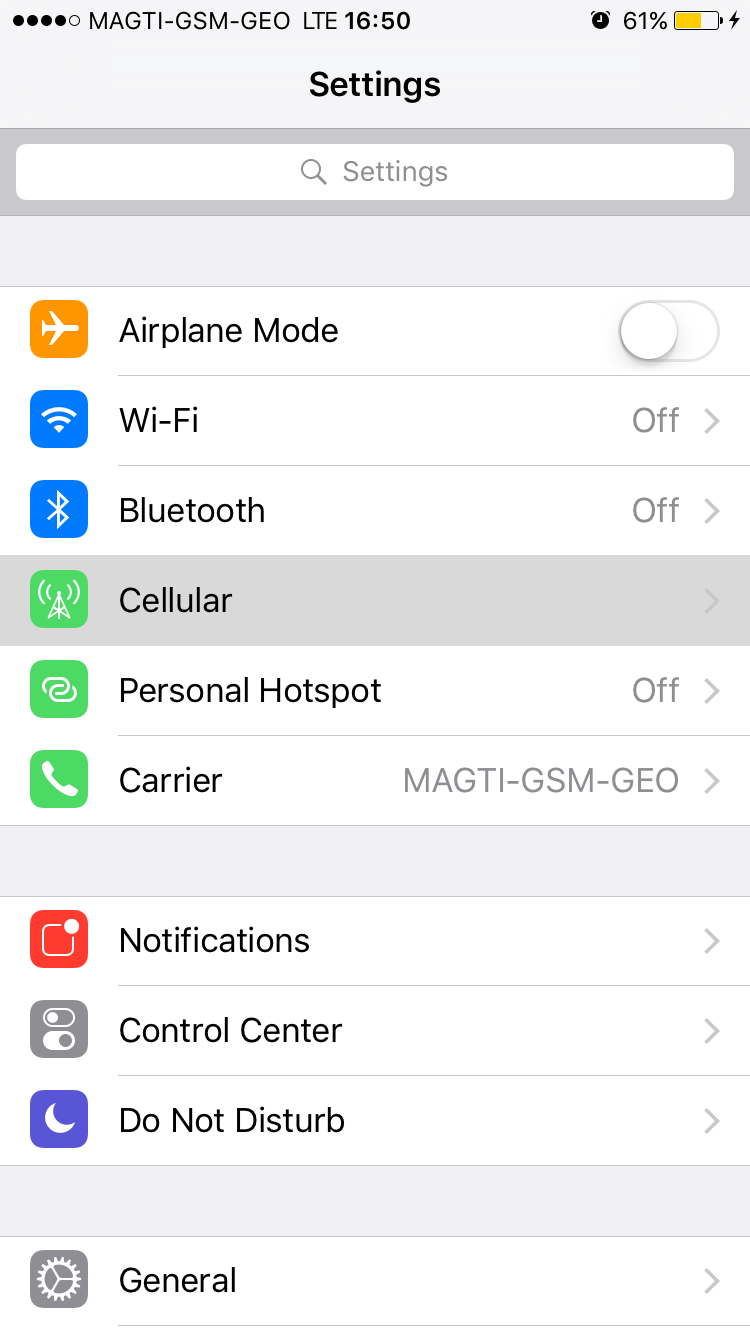 mms option in setting missing - Apple Community