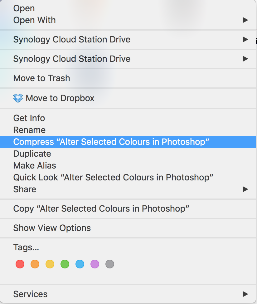 Remove right click menu option - Apple Community