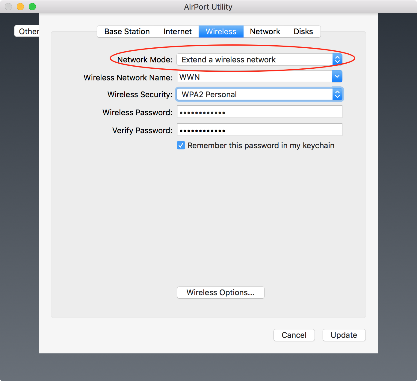 Extend Linksys network with Airport Extre… - Apple Community