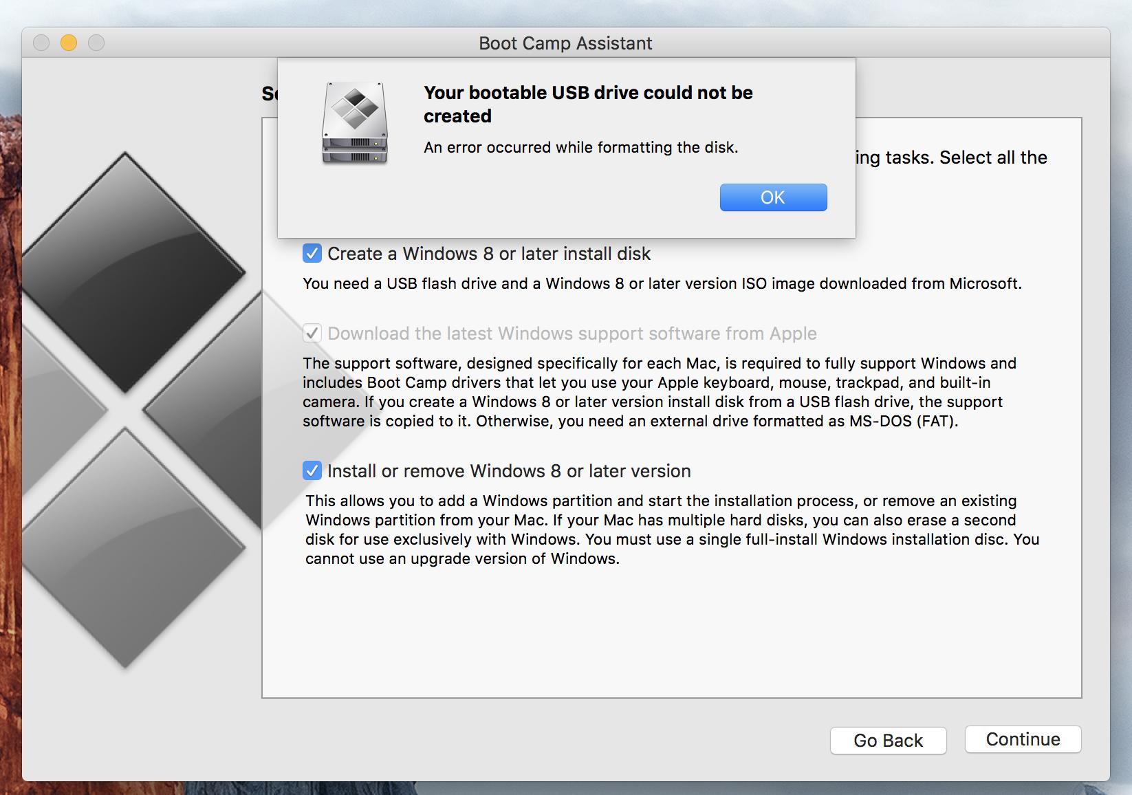 Error copying Windows 10 files to USB - Apple Community