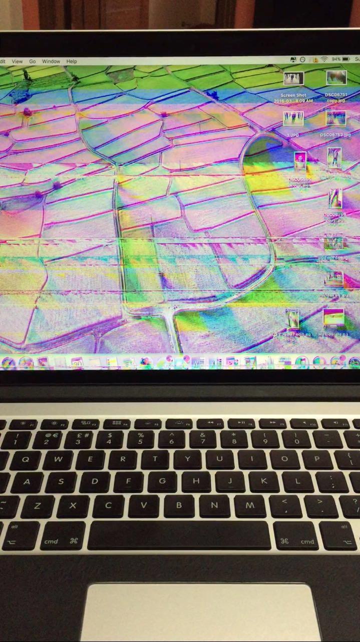 Screen flickering on MBP 15 inch mid 2015… - Apple Community