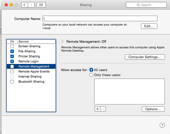Mac VNC not working after Security Update… - Apple Community