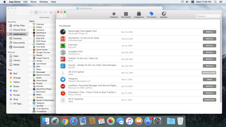 Unable to download OS X El Capitan even a… - Apple Community