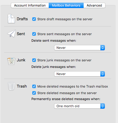IMAP with GoDaddy is storing multiple Dra… - Apple Community
