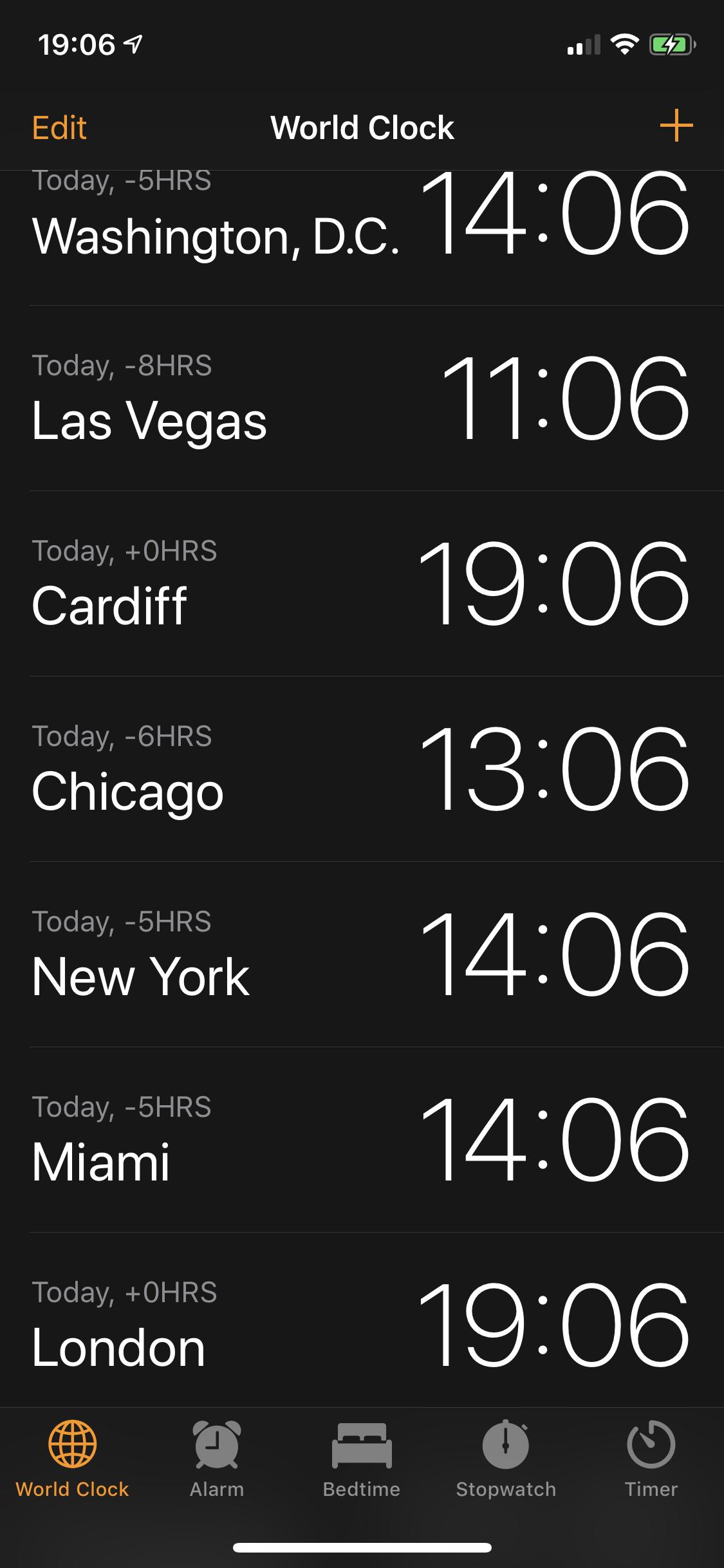 Change world clock - Apple Community