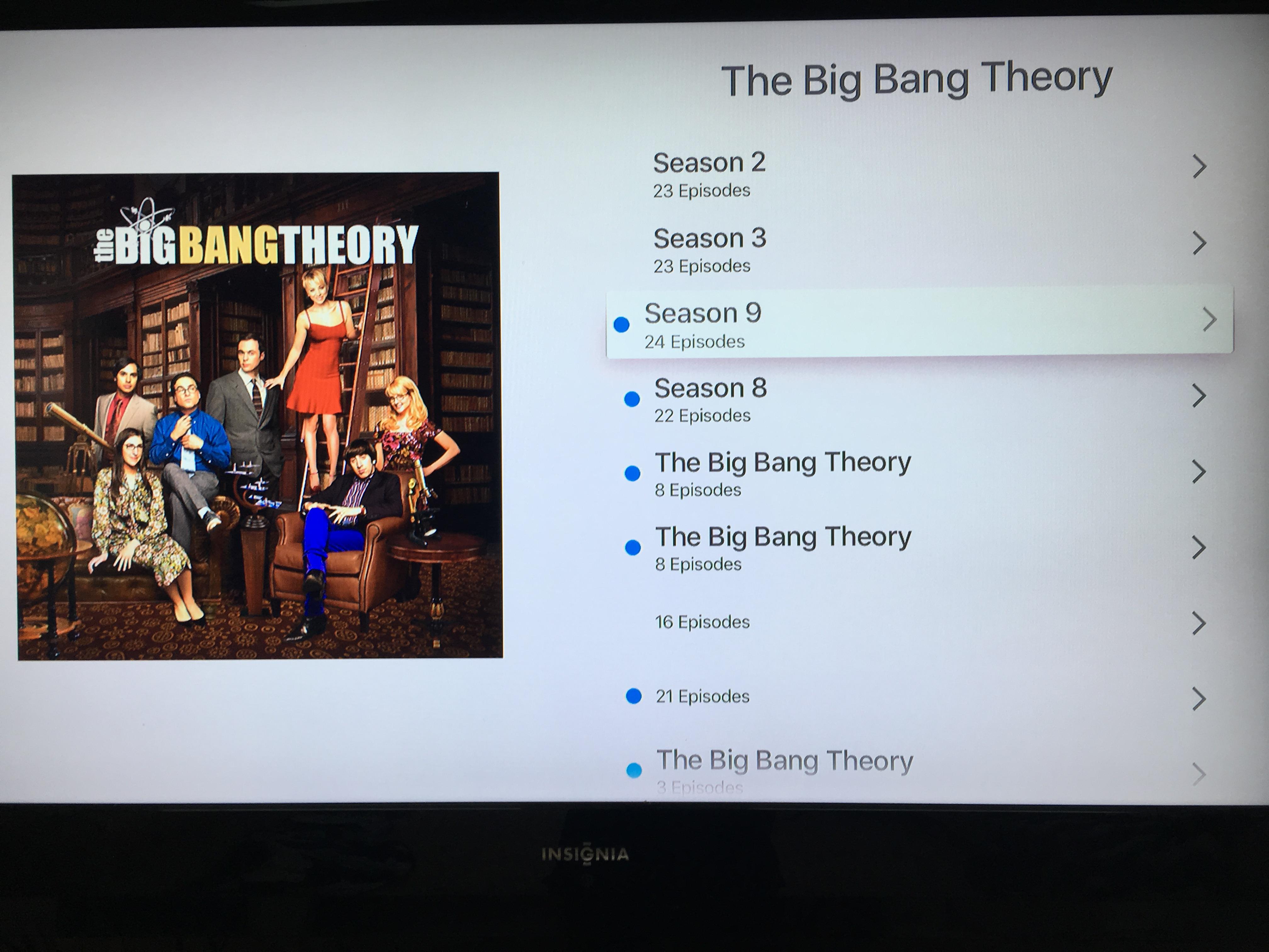 Home Sharing Tv Show Folders Seasons Mixe Apple Community