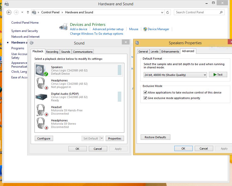 low sound windows 10 bootcamp