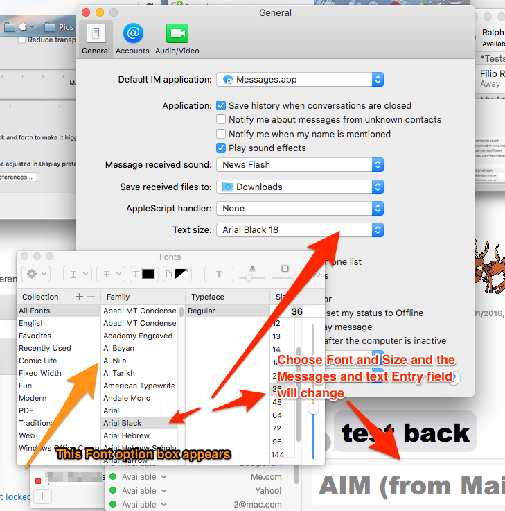 How to theme Messsages for Mac? - Apple Community