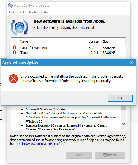 Apple Software Update won't install u… - Apple Community