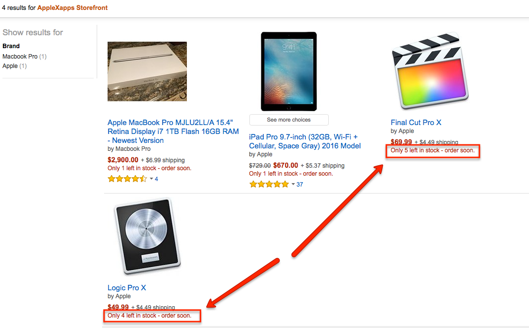 Is this logic on amazon legal? - Apple Community