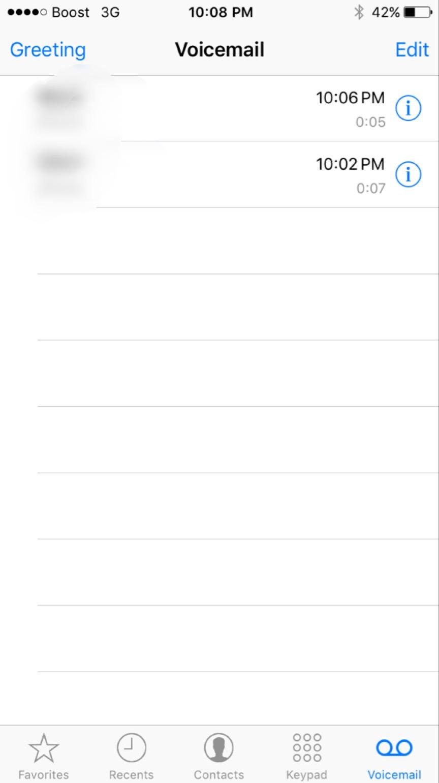 Turn off visual voicemail on iOS 9 - Apple Community