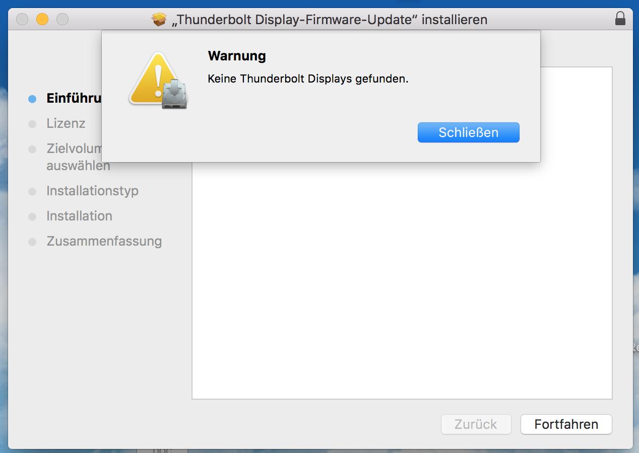 Thunderbolt Firmware still an issue     n… - Apple Community