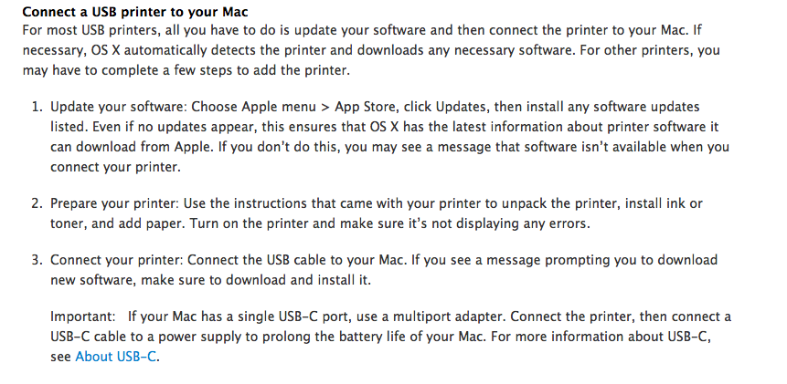 Epson Printer Driver Does Not Show Up in … - Apple Community