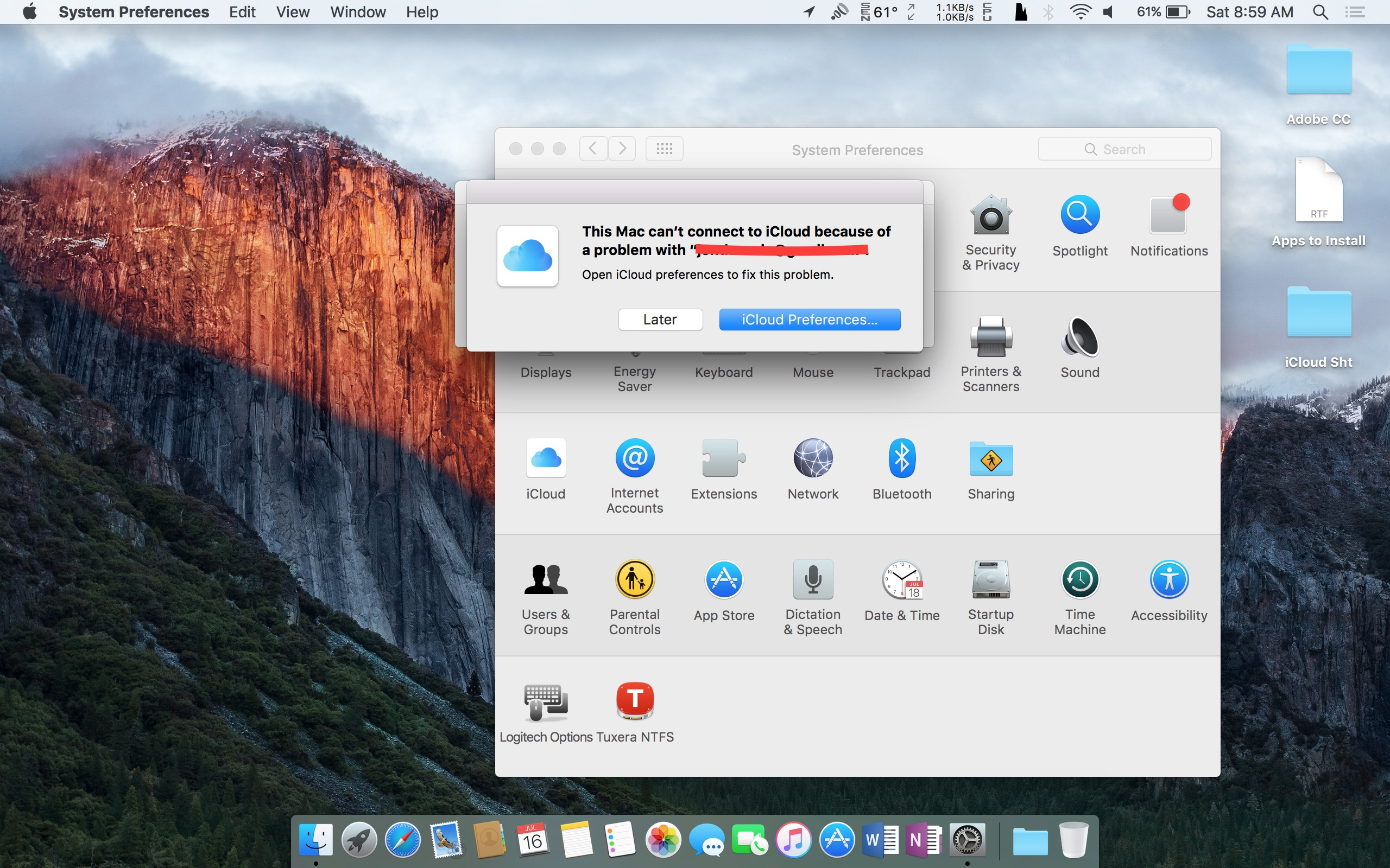 iCloud keeps asking for Password on Mac a… - Apple Community
