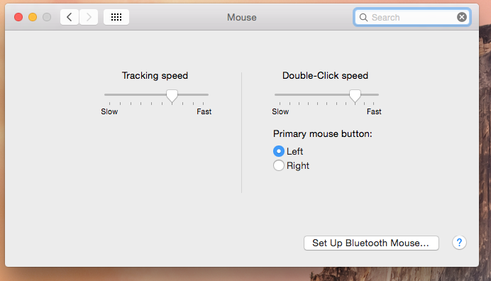 Magic mouse 2 not showing all preferences  - Apple Community