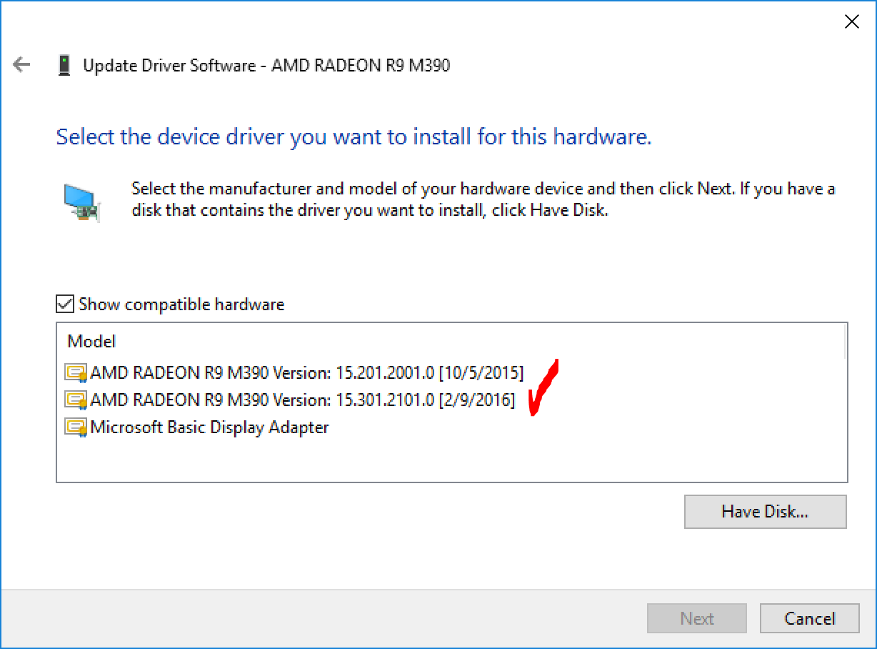 AMD Radeon R9 M390 Driver issues on Windo… - Apple Community