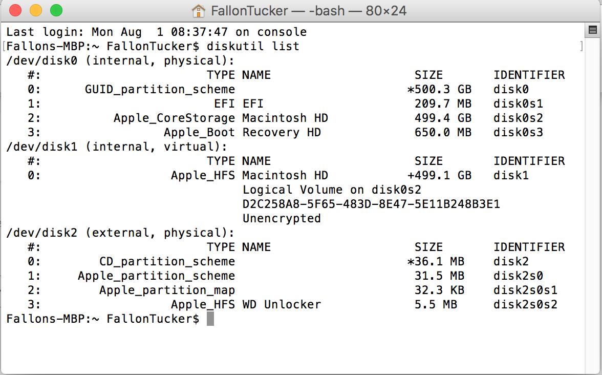 Reformat WD My Passport Ultra for Mac Not… - Apple Community