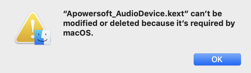 Can't delete soundflower/apowersoft a… - Apple Community