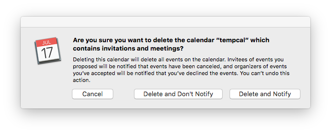 How can i delete notifications from iCal … - Apple Community