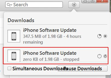 How to cancel iOS update download in iTun… - Apple Community