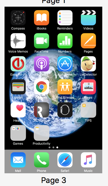 iPhone app shows gray box with a small ic… - Apple Community